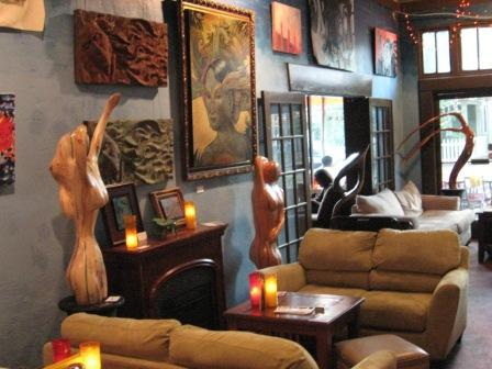 Solstice Cafe Art party