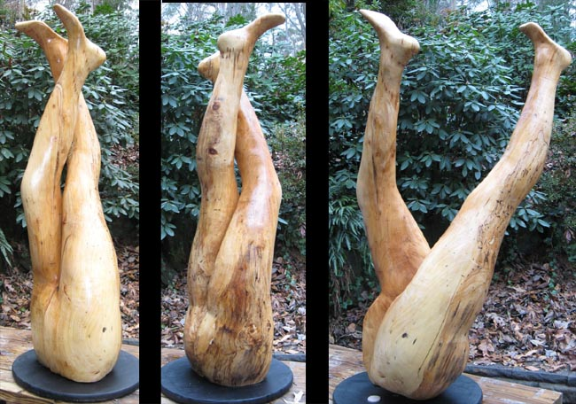 Leg Crossing Sculpture