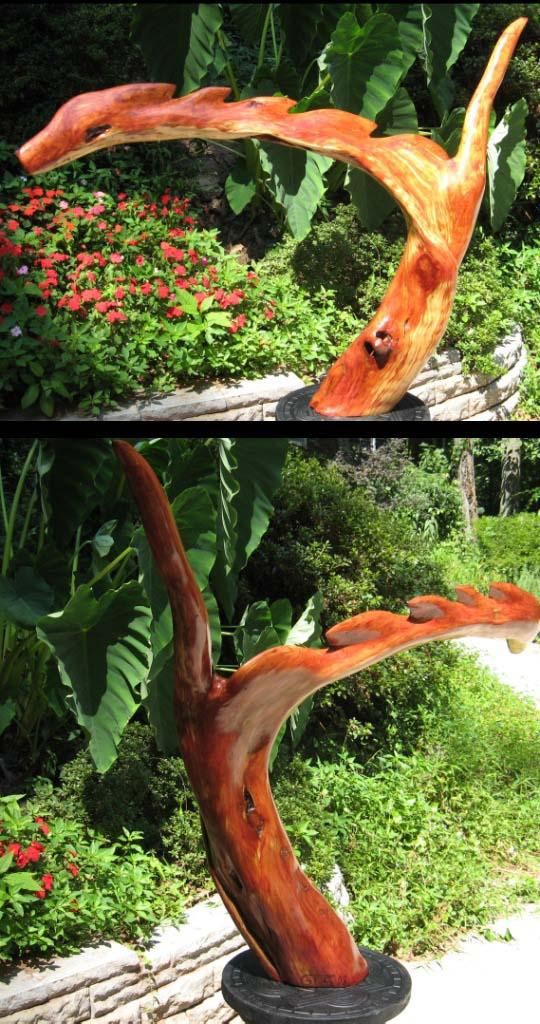 sculpture - Cedar Dragon