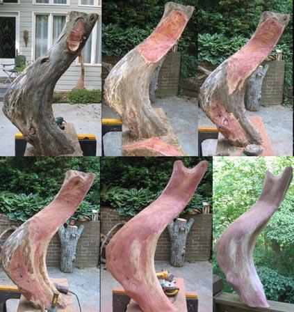 sculpture - Cedar Tail