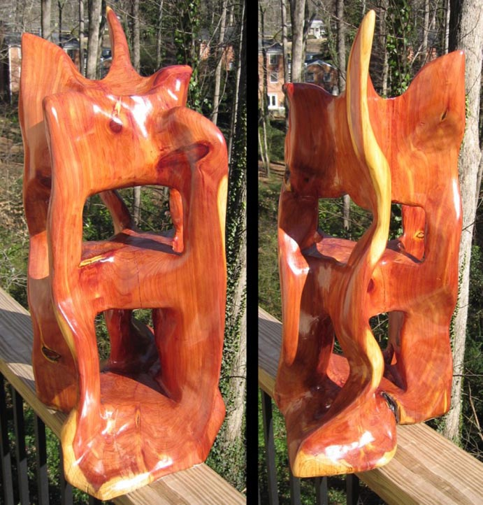 sculpture - Cedar Water