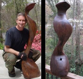 sculpture - Chakra, finished