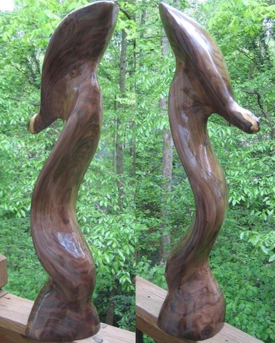 sculpture - Chocolate Sea Serpent