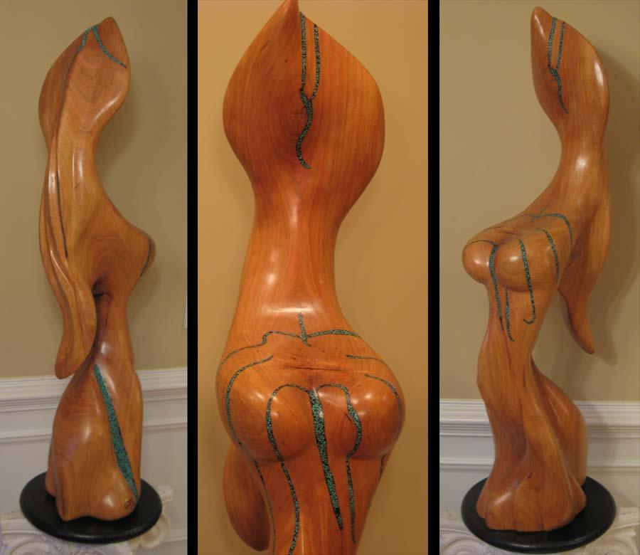 sculpture - Corset Caress