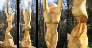 Sculpture - Dancing Rica progression 2