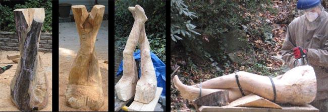 sculpture - Leg Crossing