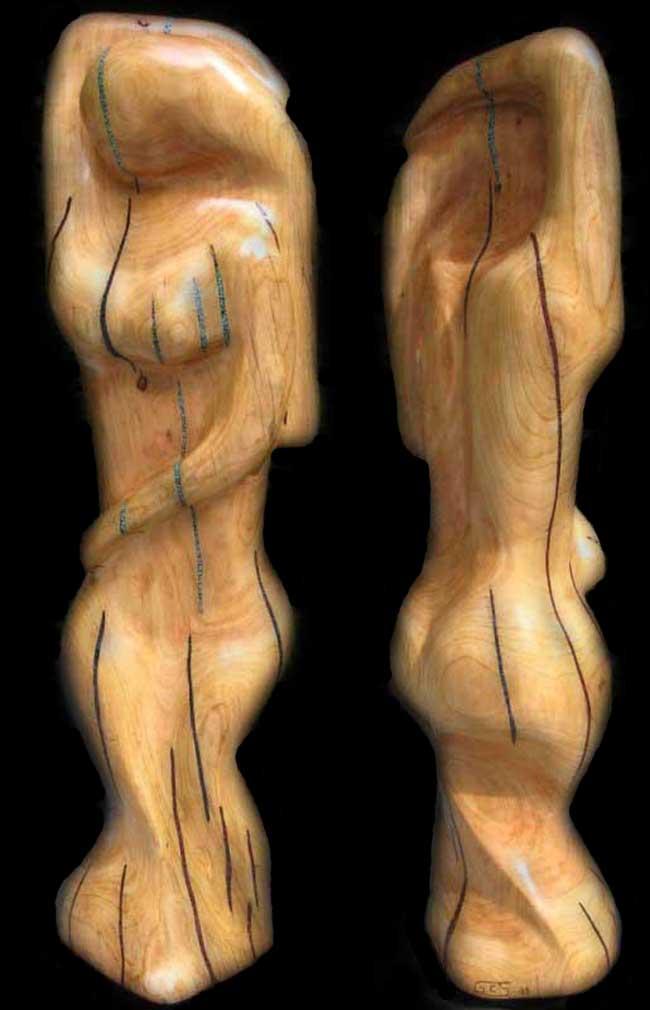 sculpture - salsa dancer