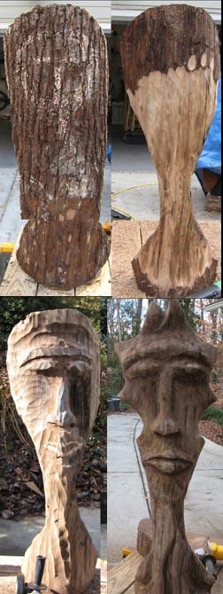 sculpture - Spirit Face