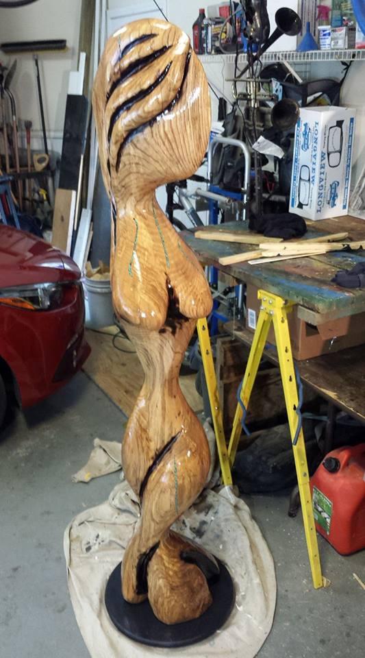 sculpture - Boobie Butter Nut