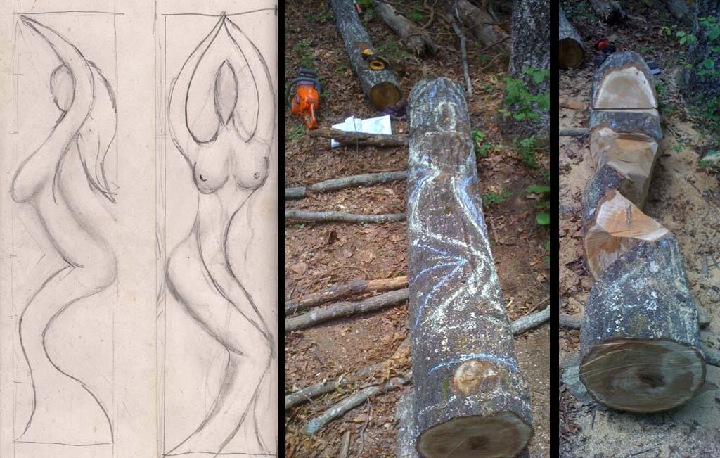 sculpture - Sheila